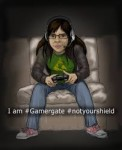 I am #Gamergate #notyourshield
